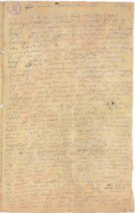 Гейлигенштадское завещание Бетховена - оригинал