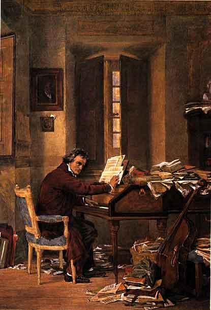 Характер Бетховена с бытовой точки зрения