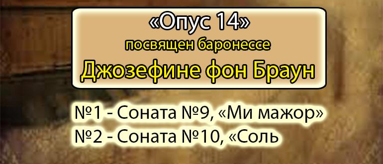 Фортепианные сонаты №9 и №10