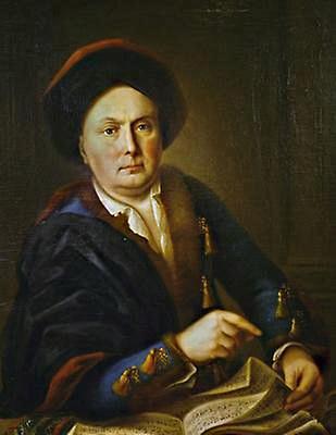 Дед Бетховена - портрет Амелиуса Раду